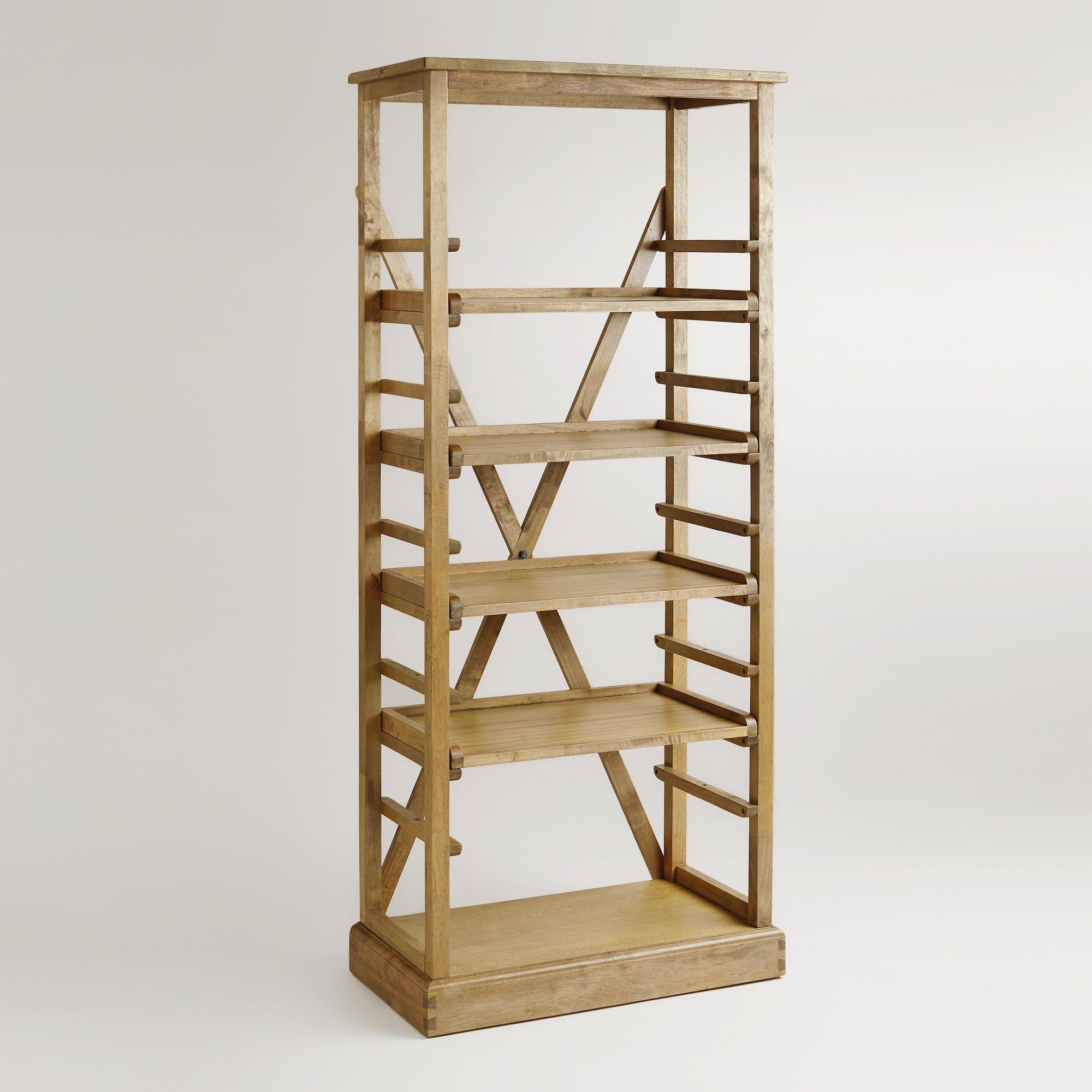 Campaign Bookshelf Bookcase Campaign Style Furniture Bookshelves