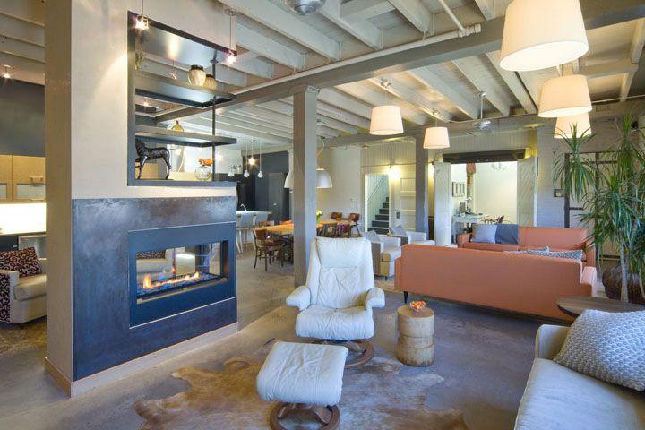Swift lofts billings mt fireplace wall remodel for Billings plan room