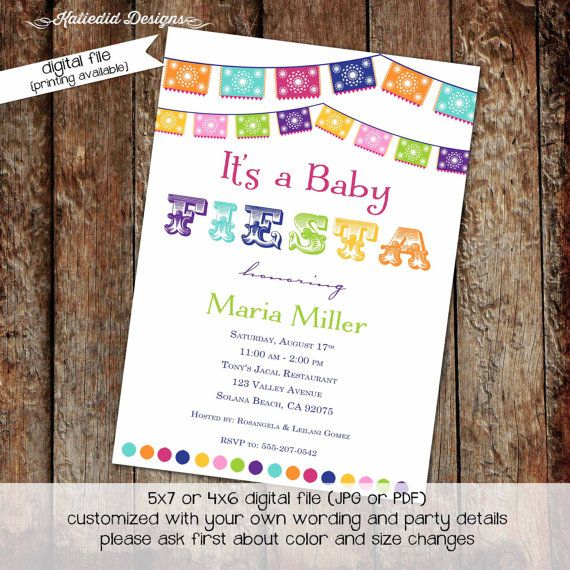 644700ce0c022cd3f0cf4d433ee20df5 mexican fiesta themed baby shower invitation by designedbybrenda,Mexican Themed Baby Shower Invitations