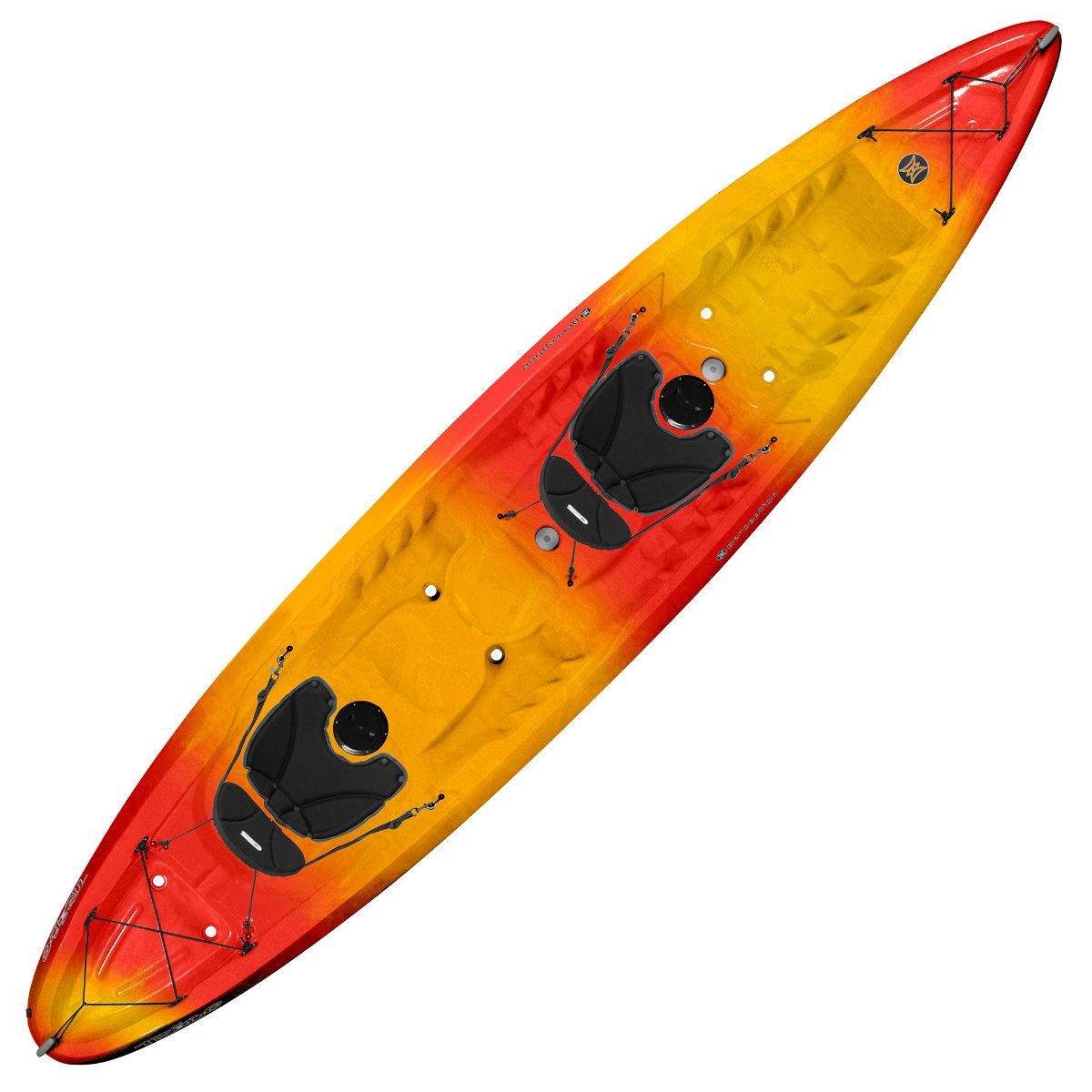 Perception Tribe 13.5 Tandem Kayak Red/Yellow851990