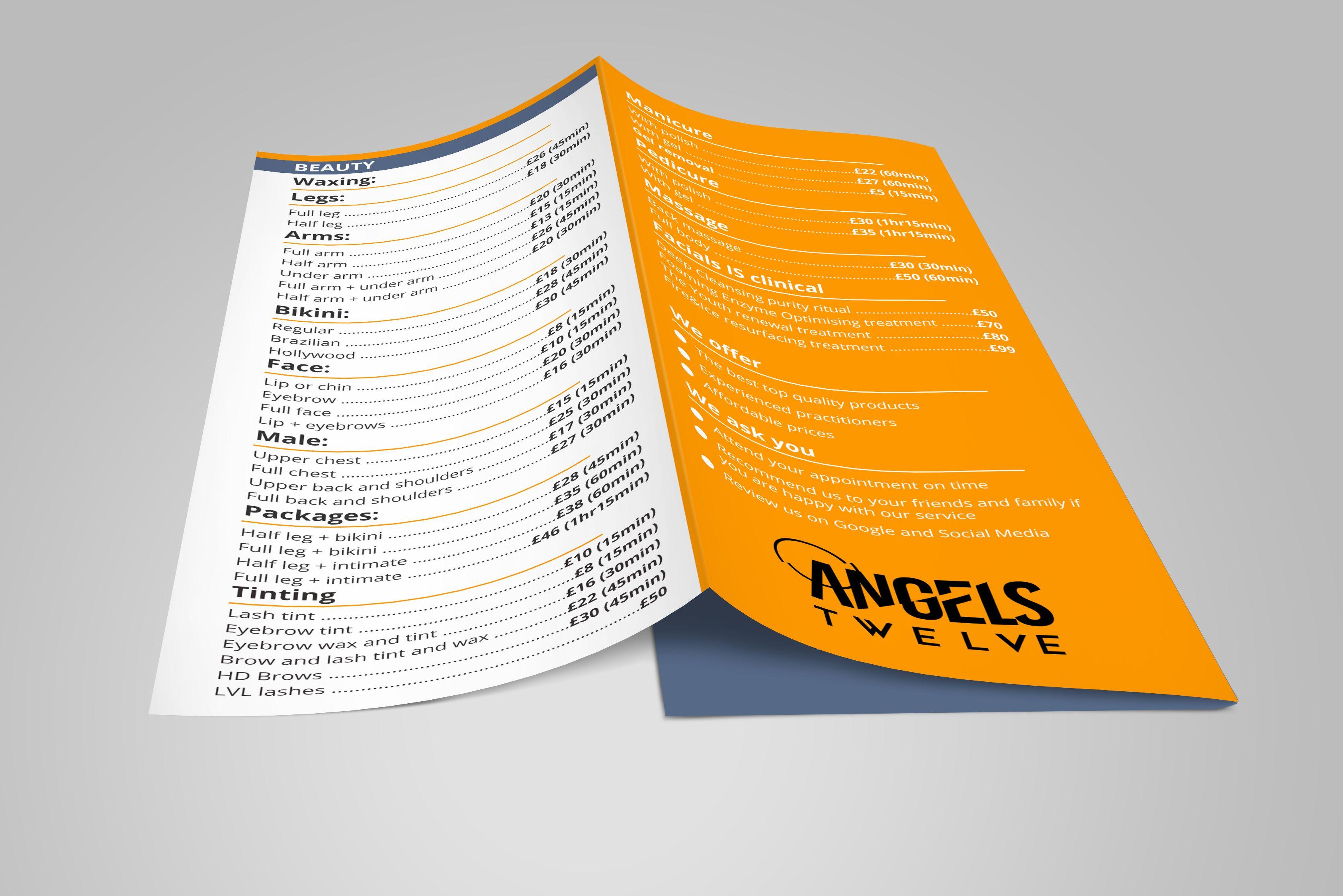11x17 tri fold brochure 8 5 x 11 trifold brochure template a4