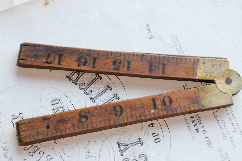 School Rule Industrial Unique Ruler Vintage Rulers