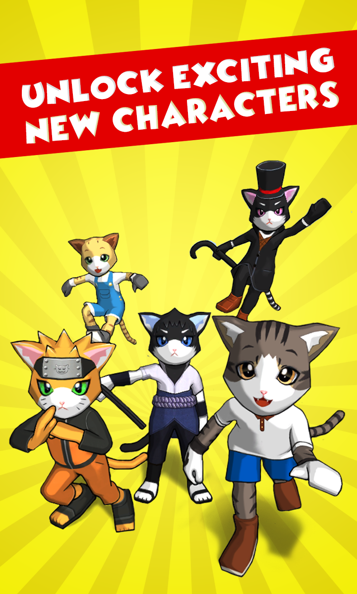 Kids adore cats and cat game. So, all who are looking for