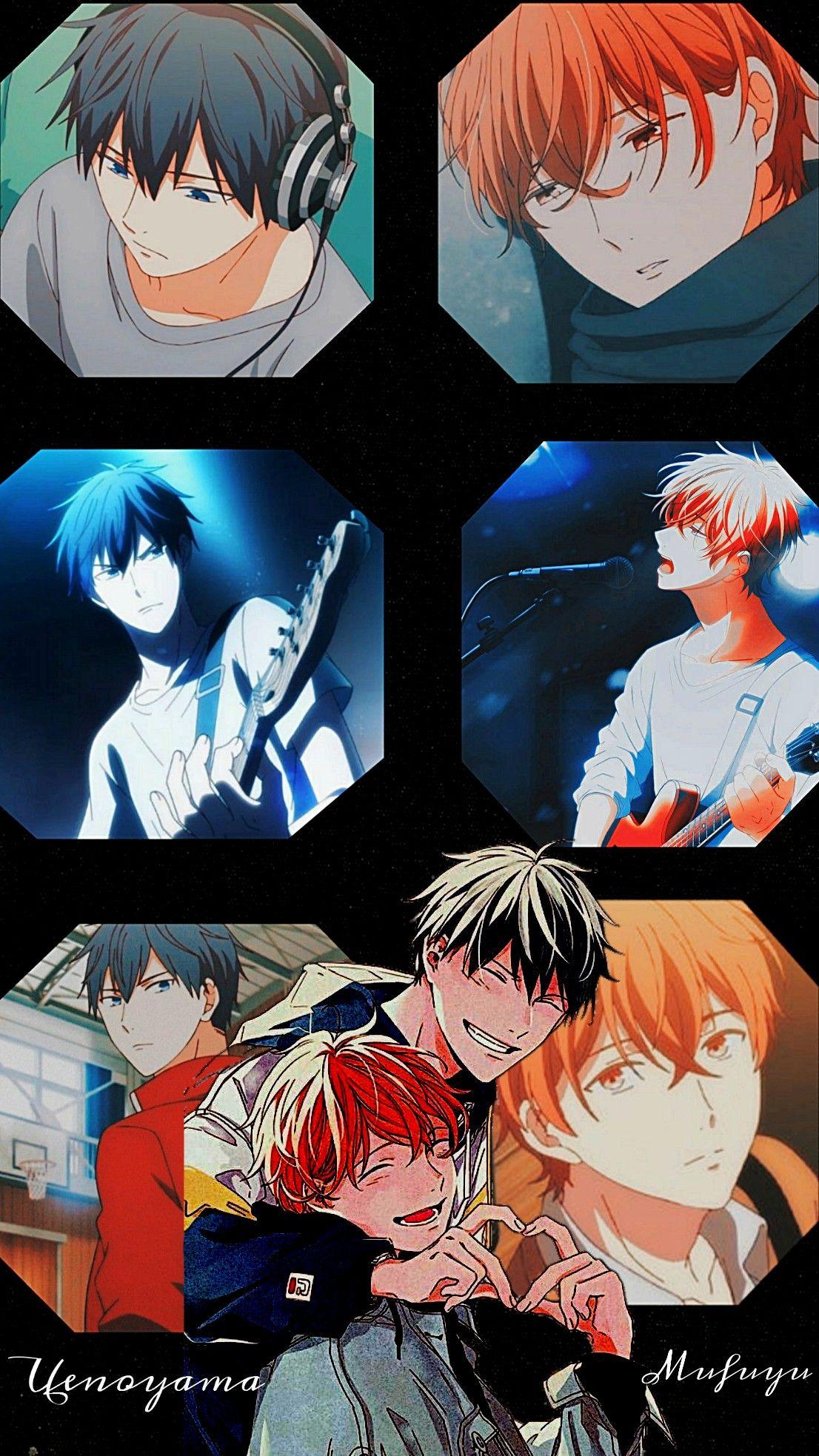 Mufuyu X Uenoyama In 2020 Anime Anime Wallpaper Art