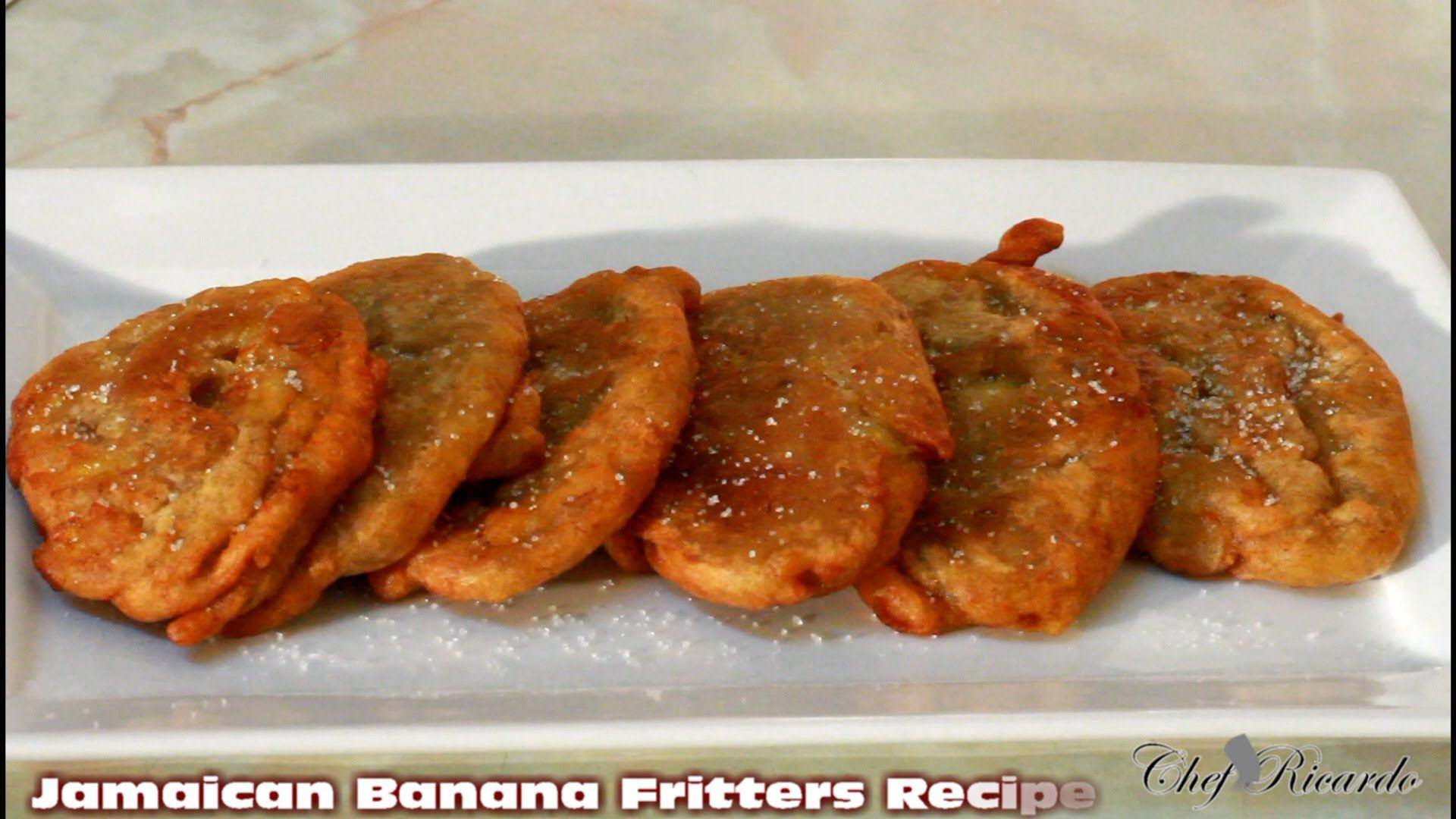 Jamaican Banana Fritter Recipe From Jamaican Chef Caribbean Food Caribbean Recipes Banana Fritters Jamaican Banana Fritters