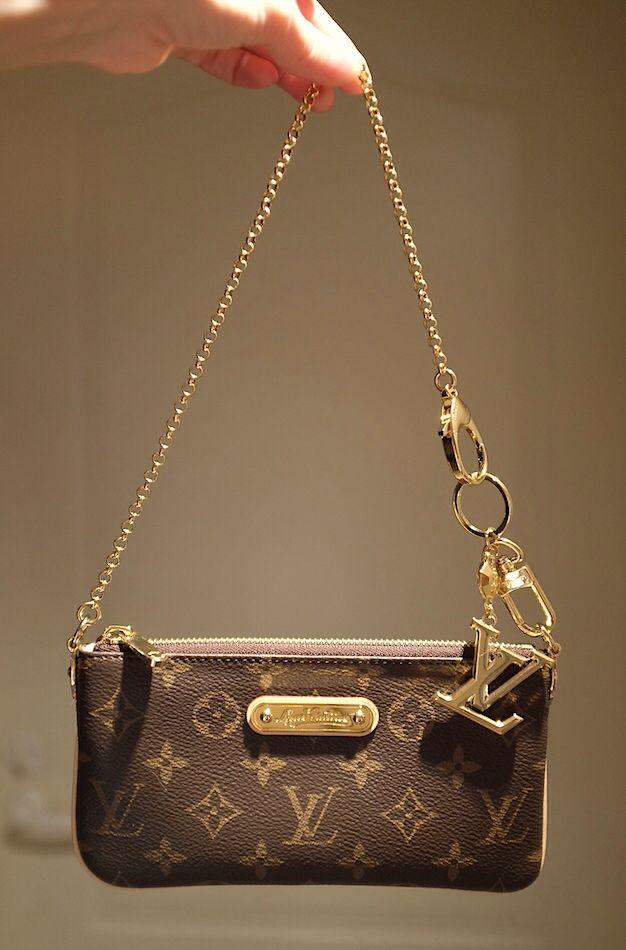 Louis  Vuitton  Milla clutch   Cute purses   Louis vuitton, Louis ... fa7c2db94a5