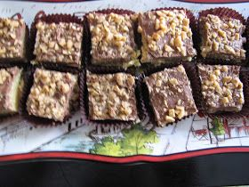 CHOCOLATES FOR BREAKFAST and other Sweet Somethings: Toffee Chocolate Bars-MMMmmm Monday