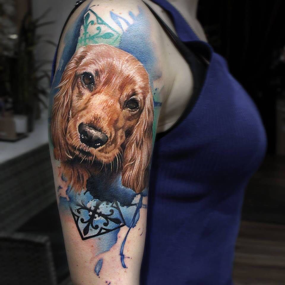 Groovy Cocker Spaniel Tattoos Sailor Jerry Tattoos Anchor Sailor Jerry Tattoos Disney Tattoos Shellback Tattoo