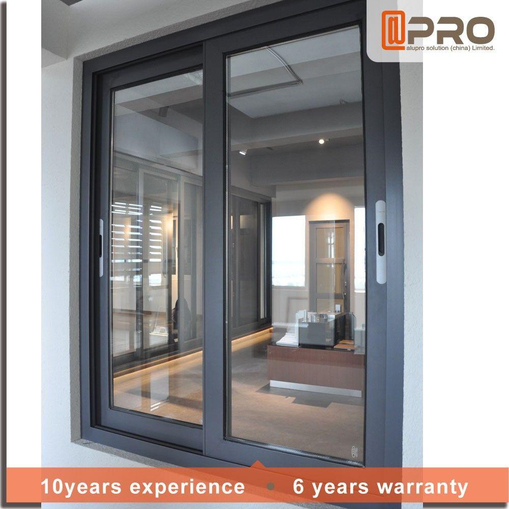 2017 diseo Moderno casa de estilo de ventana de rejas de ventanas de aluminio para ventanas correderasen Ventanas de Puertas y Ventanas en