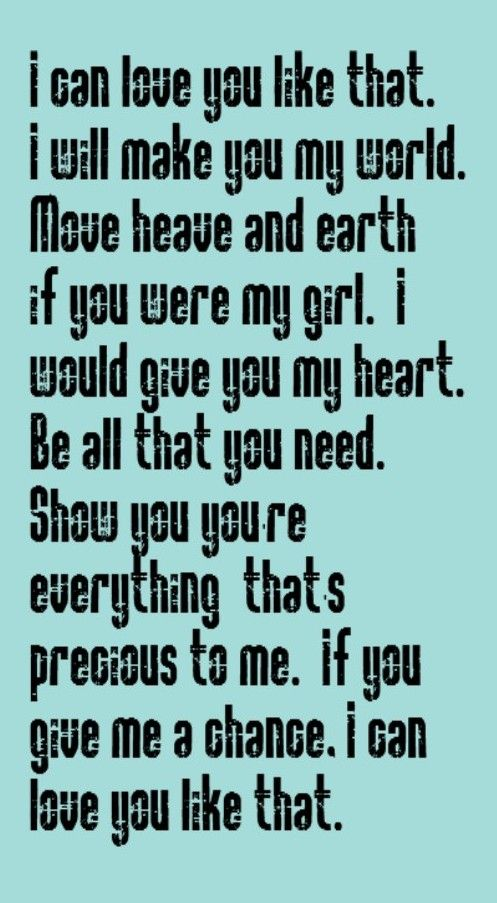 John Michael Montgomery I Can Love You Like That Song Lyrics