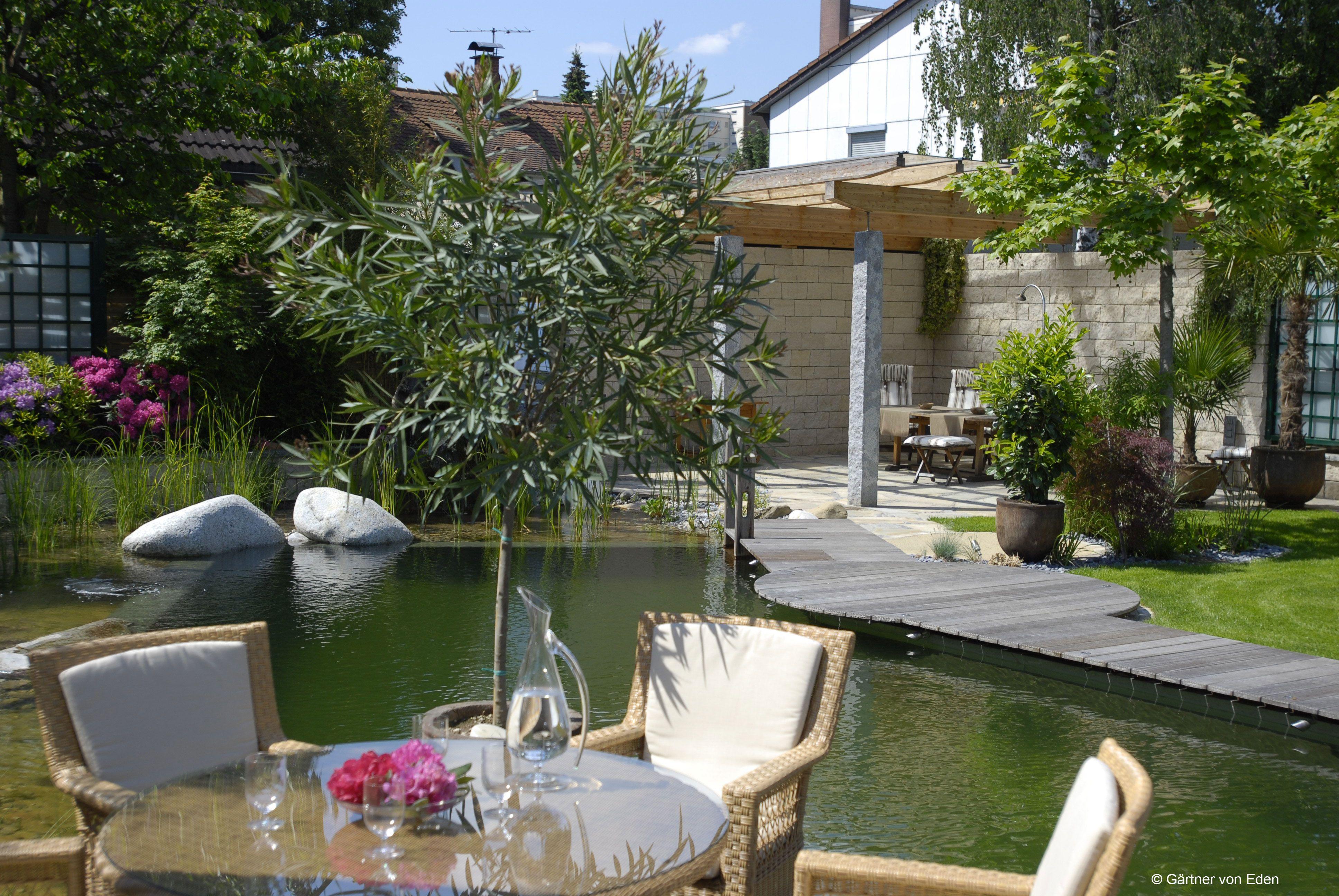 Gartengestaltung Wasser