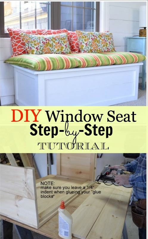 Magnificent How To Build A Window Seat Tutorial Upgrade Your Space Ocoug Best Dining Table And Chair Ideas Images Ocougorg