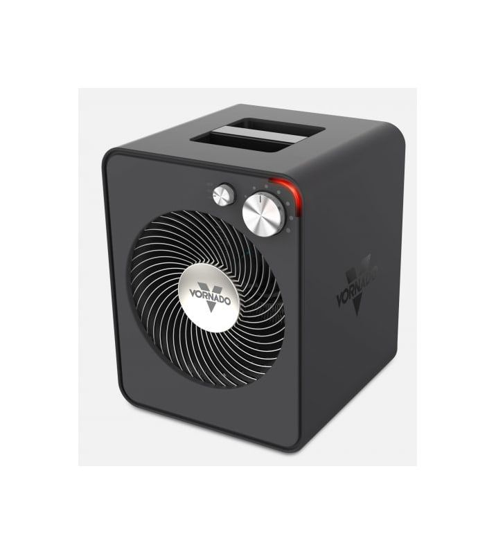 Vornado Vmh300 1500 Watt 120 Volt Portable Fan Forced Electric Heater With Therm Storm Gray Heaters Port Electric Heater Portable Heater