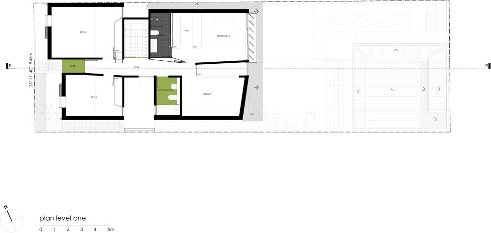 Gallery Of Green House Carter Williamson Architects 11 Architect House Plans House