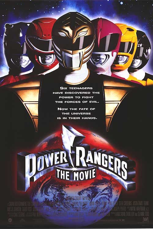 [ MIGHTY MORPHIN POWER RANGERS POSTER ]