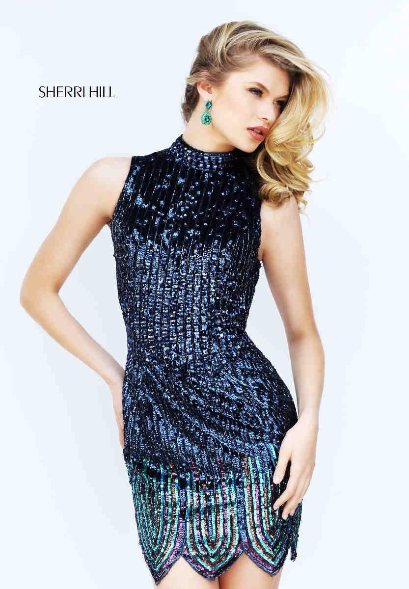 Dein Abendkleid in kurz: Elegant und sexy in einem! Von @sherrihill ...