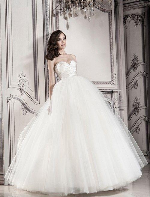 Pnina Tornai Sweetheart Ball Gown in Tulle | KleinfeldBridal.com ...