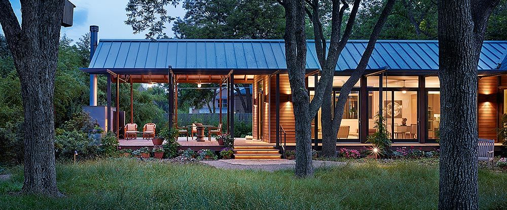 Prefab Porches porches - lake|flato porch house. outdoor living. outdoor