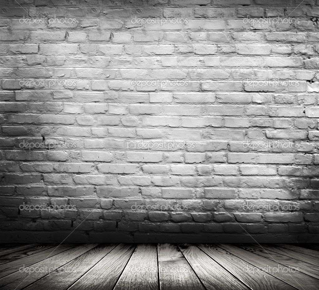 Vintage White Brick Wall White Wall And Floor Background