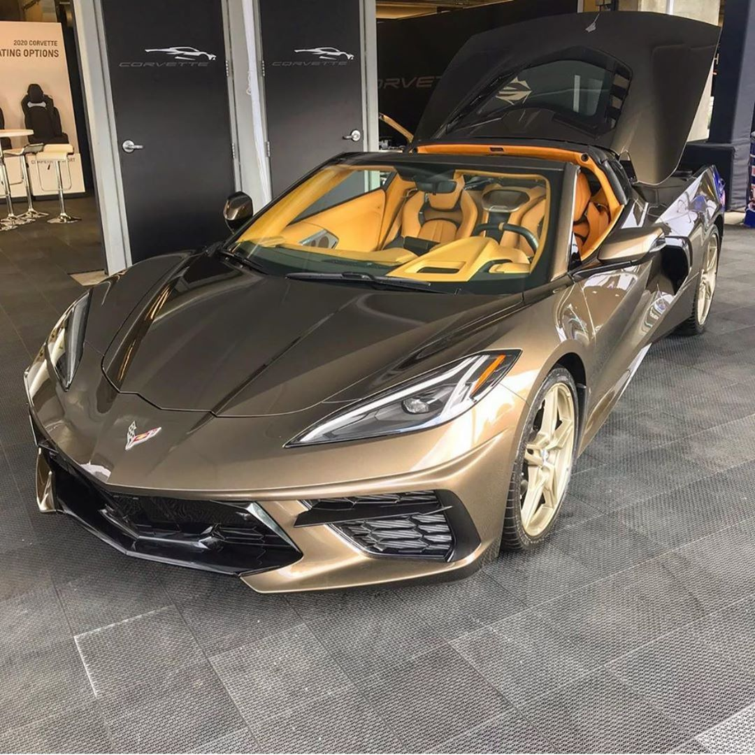 Who Loves This Color Combo C8 Gram Corvette C8 2020