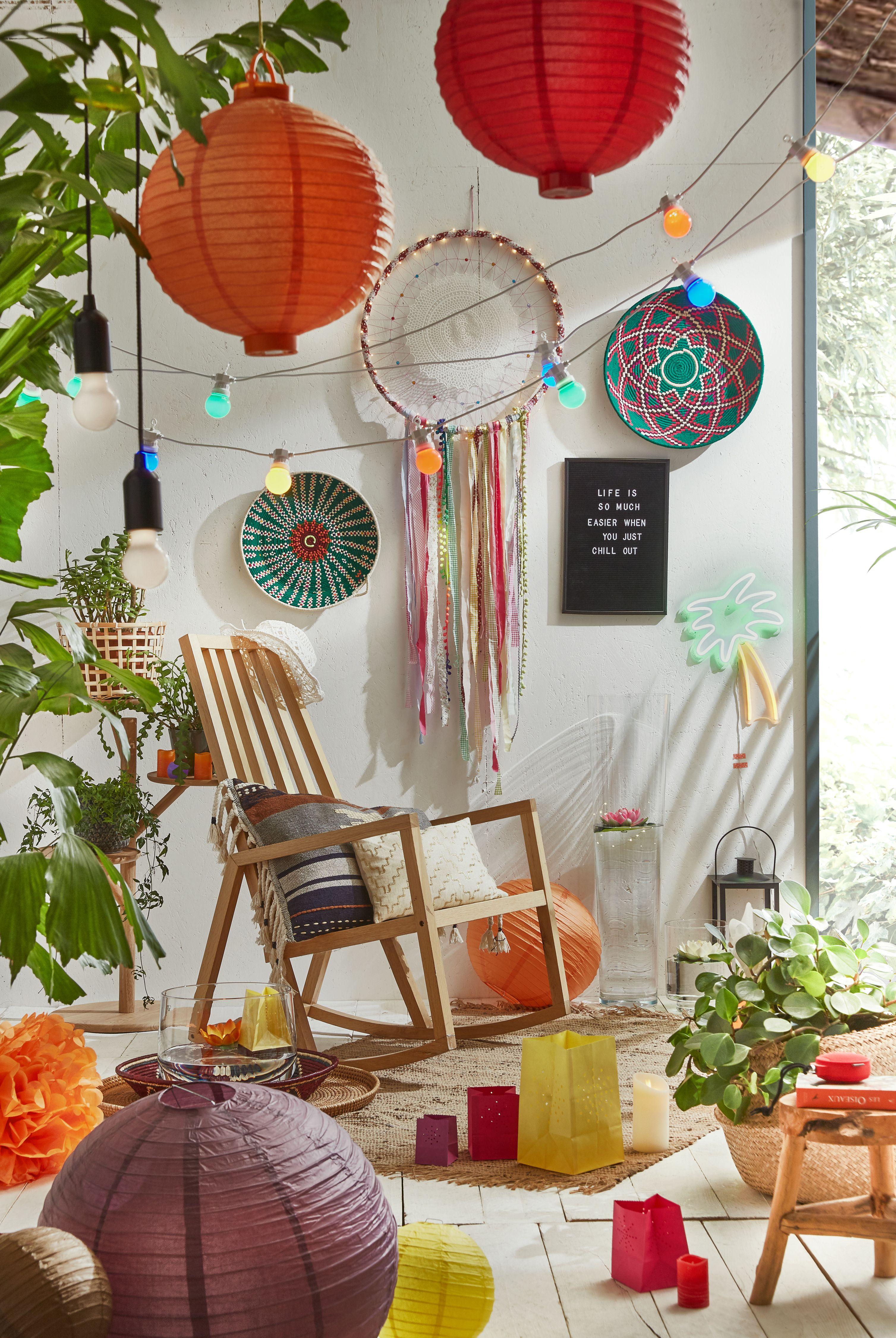 Comment Accrocher Une Guirlande Lumineuse Au Mur jardin, terrasse, patio, déco outdoor sublime avec