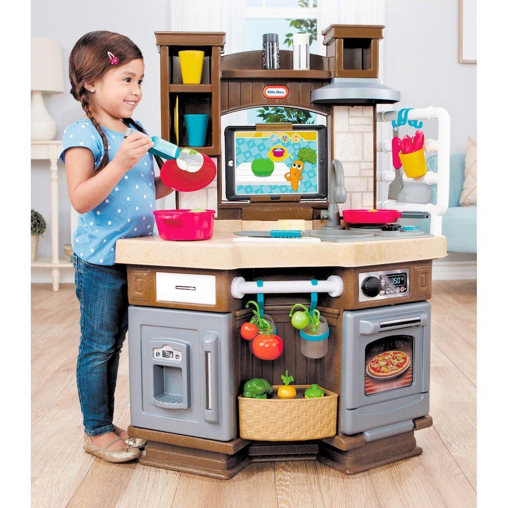 Little Tikes Cook 'N Learn Smart Kitchen in 9   Smart kitchen ...