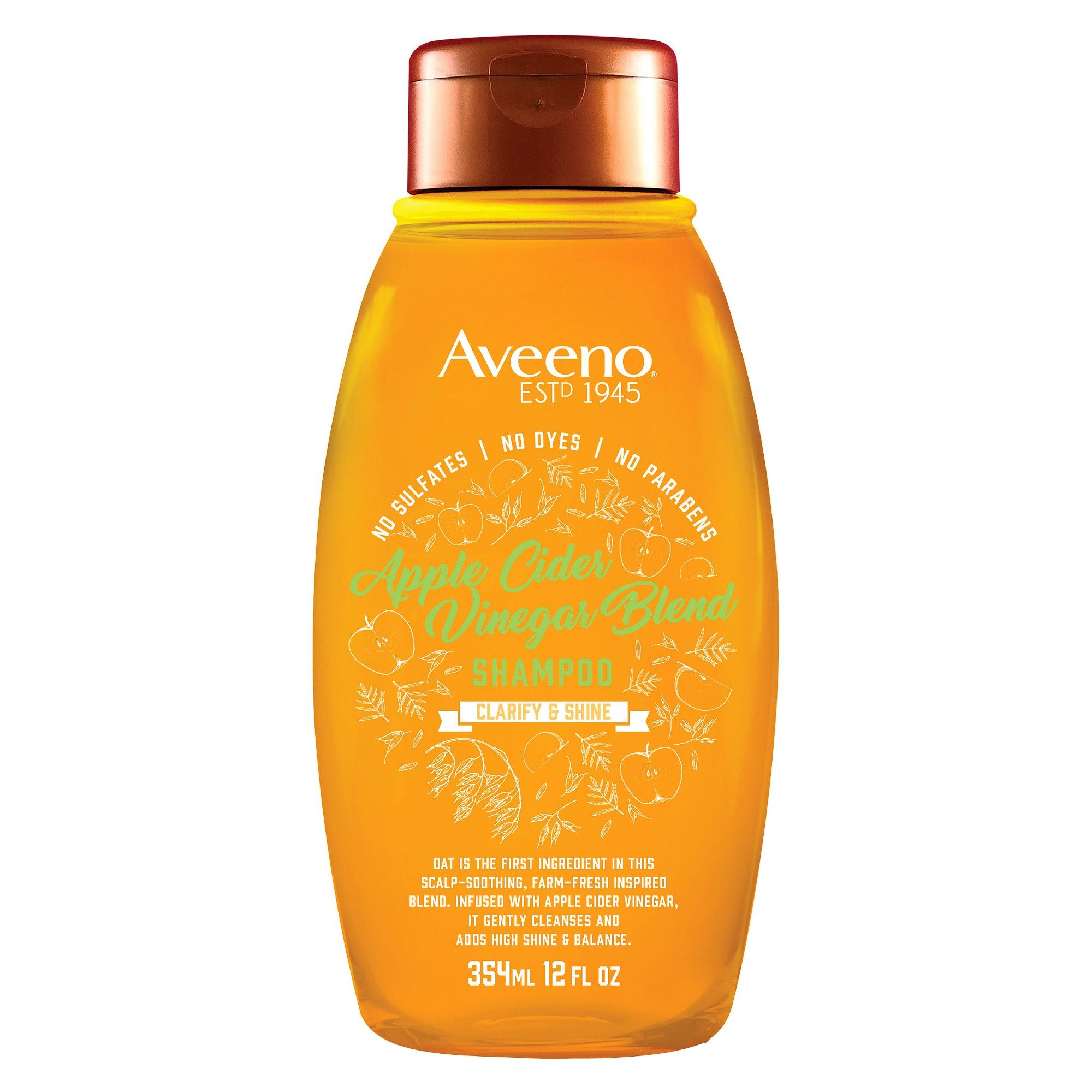 Aveeno Apple Cider Vinegar Blend Shampoo - 12 fl oz in