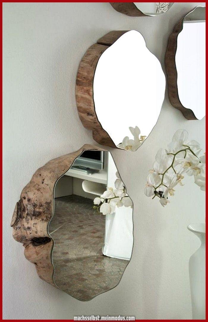 Großartig Erstaunlich Malen Sie vereinen Waldwiese - eine graue Wand, manche Spiegel und eine... #homedecoraccessories