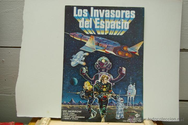 LOS INVASORES DEL ESPACIO-GUIA PUBLICITARIA