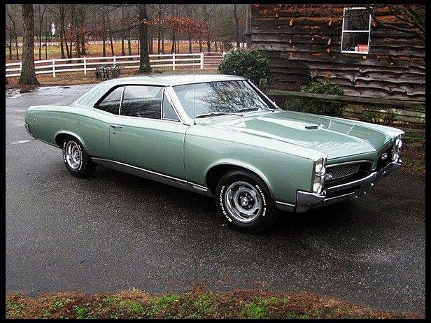 1967 Pontiac Gto Hardtop At Mecum Auctions Pontiac Gto Gto Pontiac