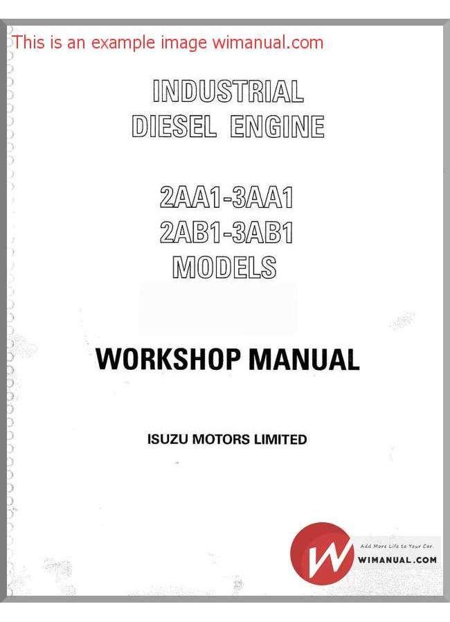 isuzu manuals online