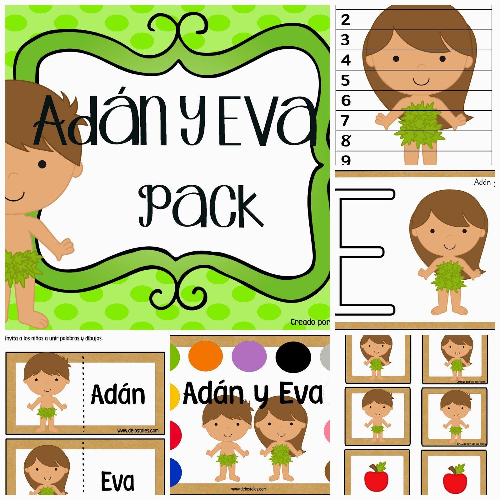 De los tales: Adán y Eva | oracion | Pinterest