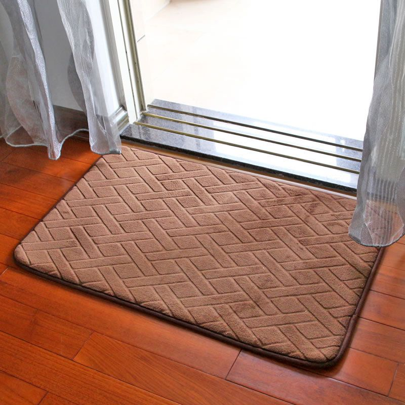New Welcome High Quality Memory Foam Anti Skid Bath Mat Super Soft Bathroom Rugs