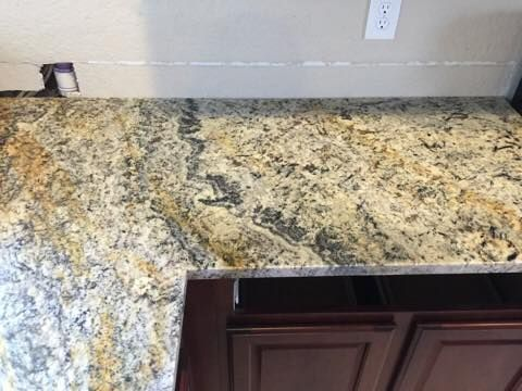 Delicatus Gold Granite Works Great For Those Wanting Invisible Seams In  Their Countertops   Can You