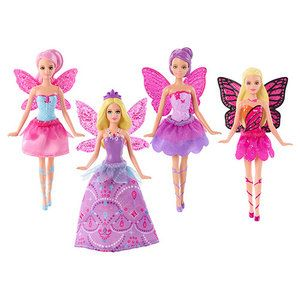 Blue Fairy Tulle Skirt Mariposa Butterfly Skipper Pink Shiny Barbie Doll