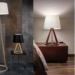 Spot-Light Dreibein Tischleuchte Konan, Holz ... #decoration house #DIY #diy decor tutorials #diy holz ideen #Dreibein #eiche #eicheweiß #Ein #farmhouse decor #geöl #geolt #Holz #holz beschriften lötkolben #holz drechseln #holz drechseln ideen #holz drechseln ostern #holz ideen dekoration #holz kerzenständer gedrechselt #holz ofen selber bauen #holz schneidebrett selber machen #home diy tips #Konan #pomponetti #Schirm #schnelles #spotlight #tischleuchte #und #weihnachtsdekoration #Weiß