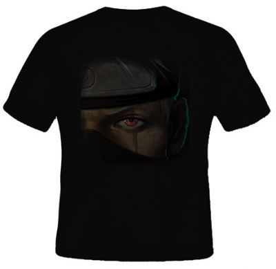 kaos kakashi wajah mata sharingan shirt pinterest shirts dan