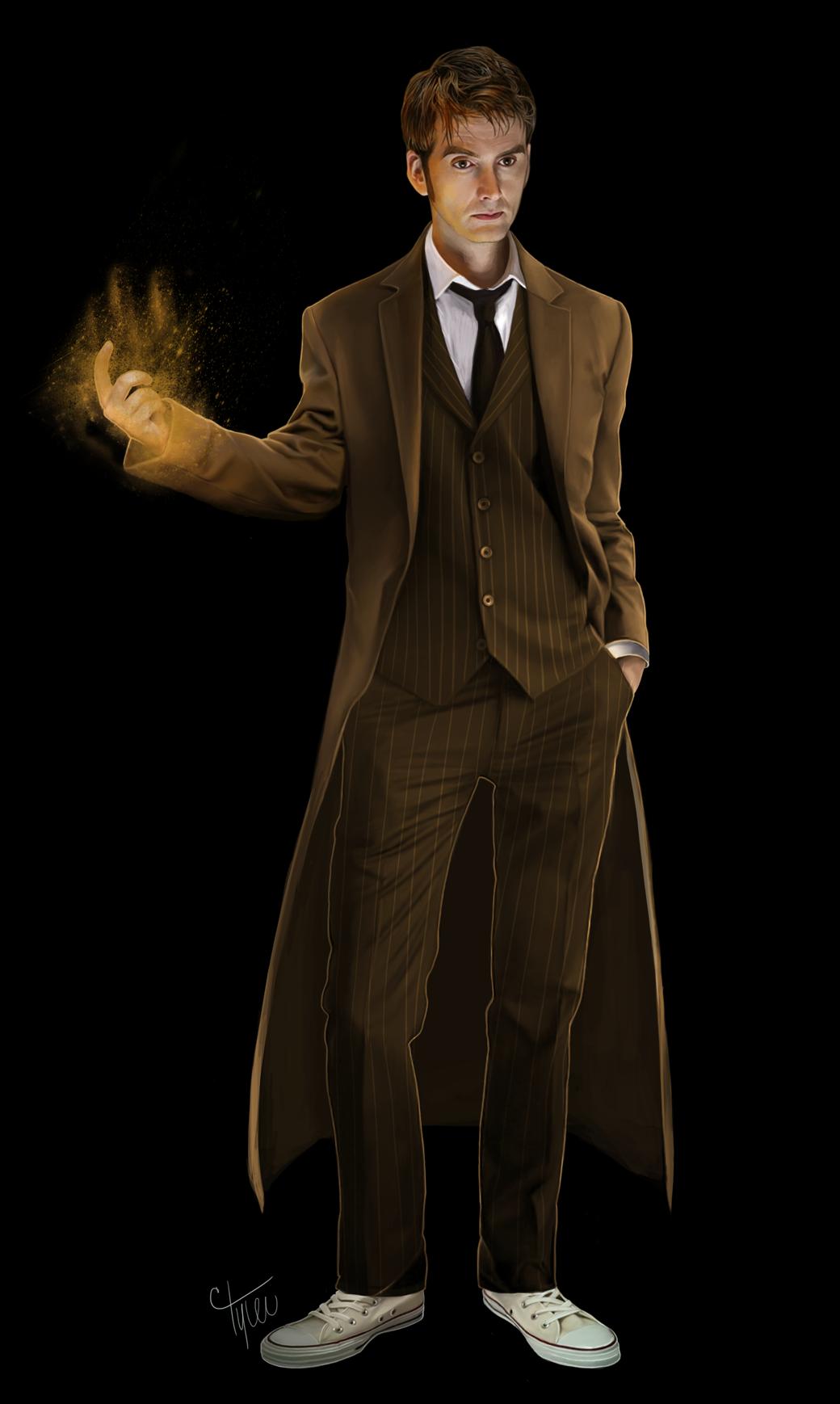 art doctor who the doctor David Tennant ten Tenth Doctor regeneration