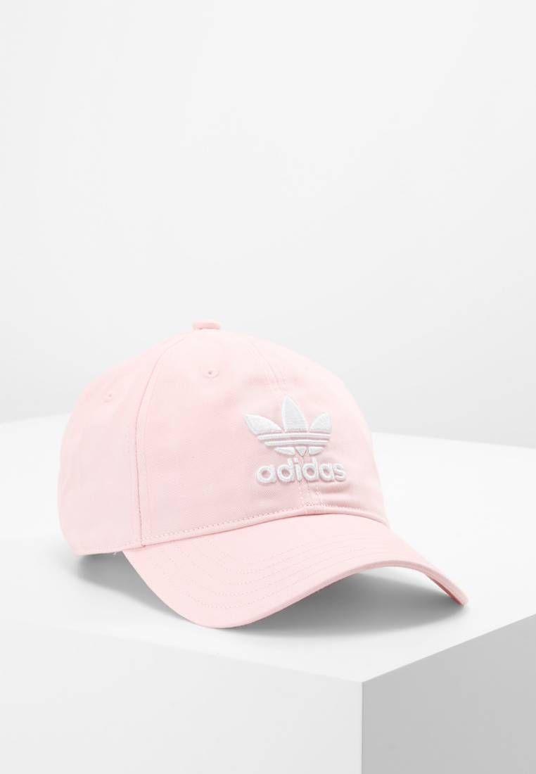 7e62607c adidas Originals. TREFOIL - Gorra - ice pink/white.  Material/composición:canvas. Material exterior:100% algodón