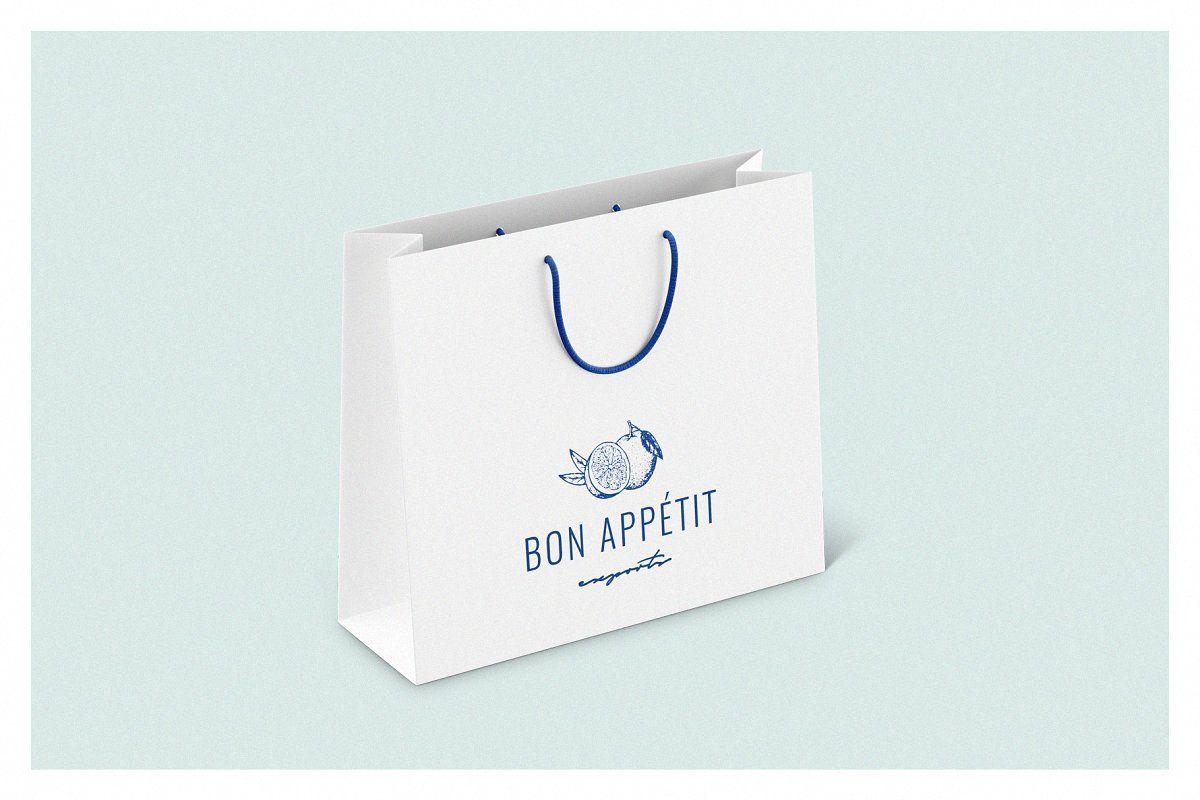 Download Shopping Bag Mockup Set Bag Mockup Template Design Ipad Lettering