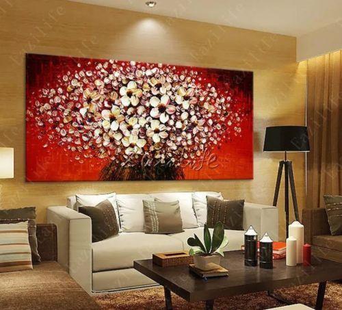 140x90 | Quadri soggiorno, Dipingere fiori, Immagini murali
