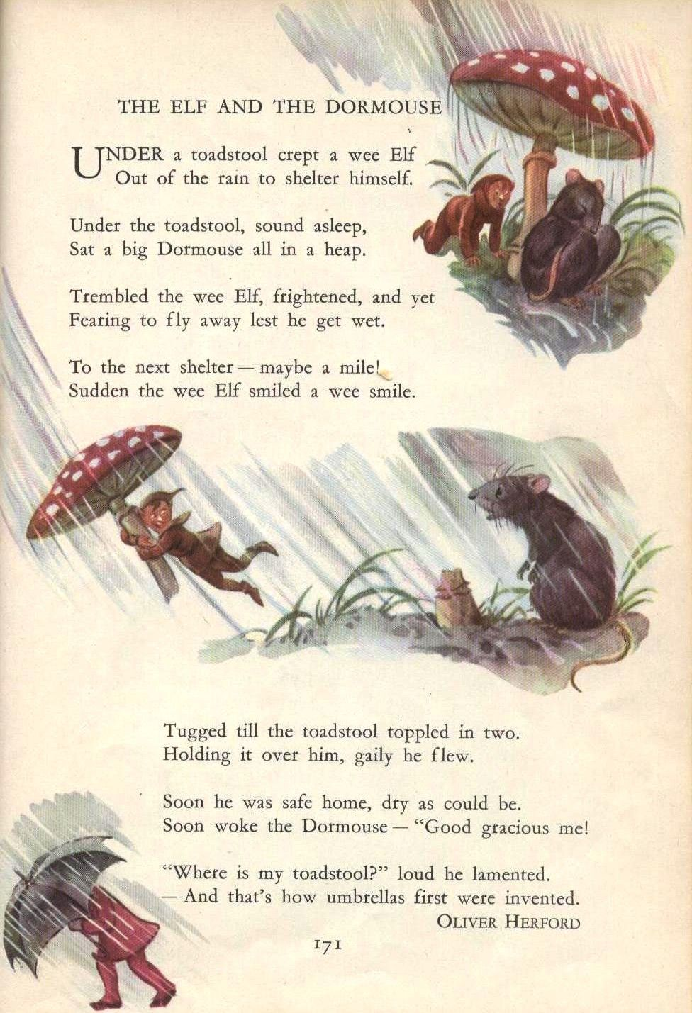 Old Fashioned Fairy Poems