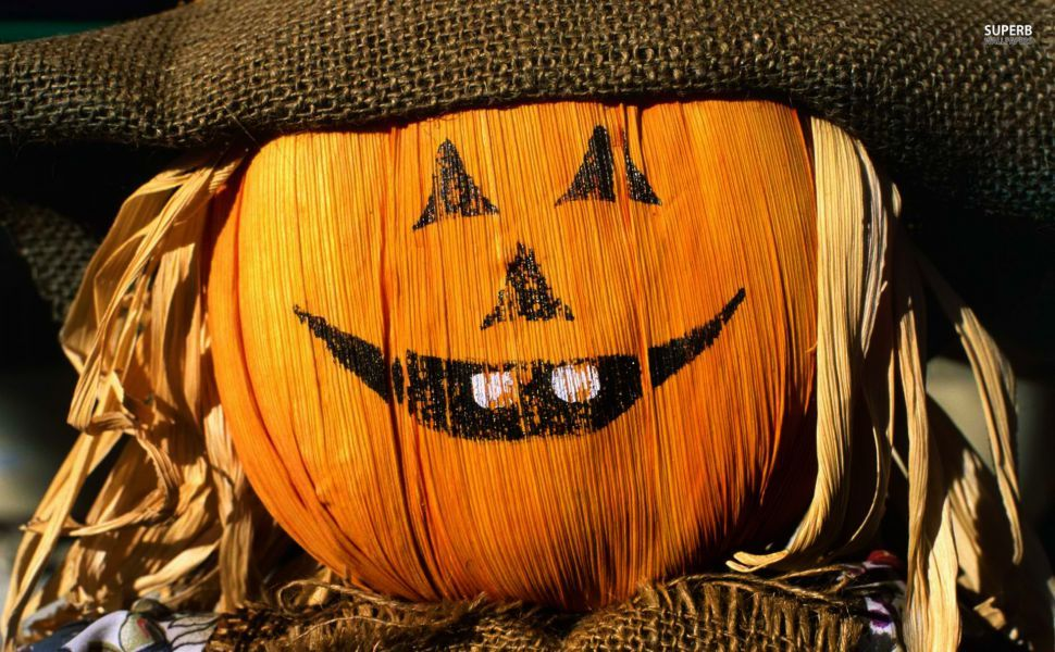 Scarecrow HD Wallpaper Halloween coloring pictures