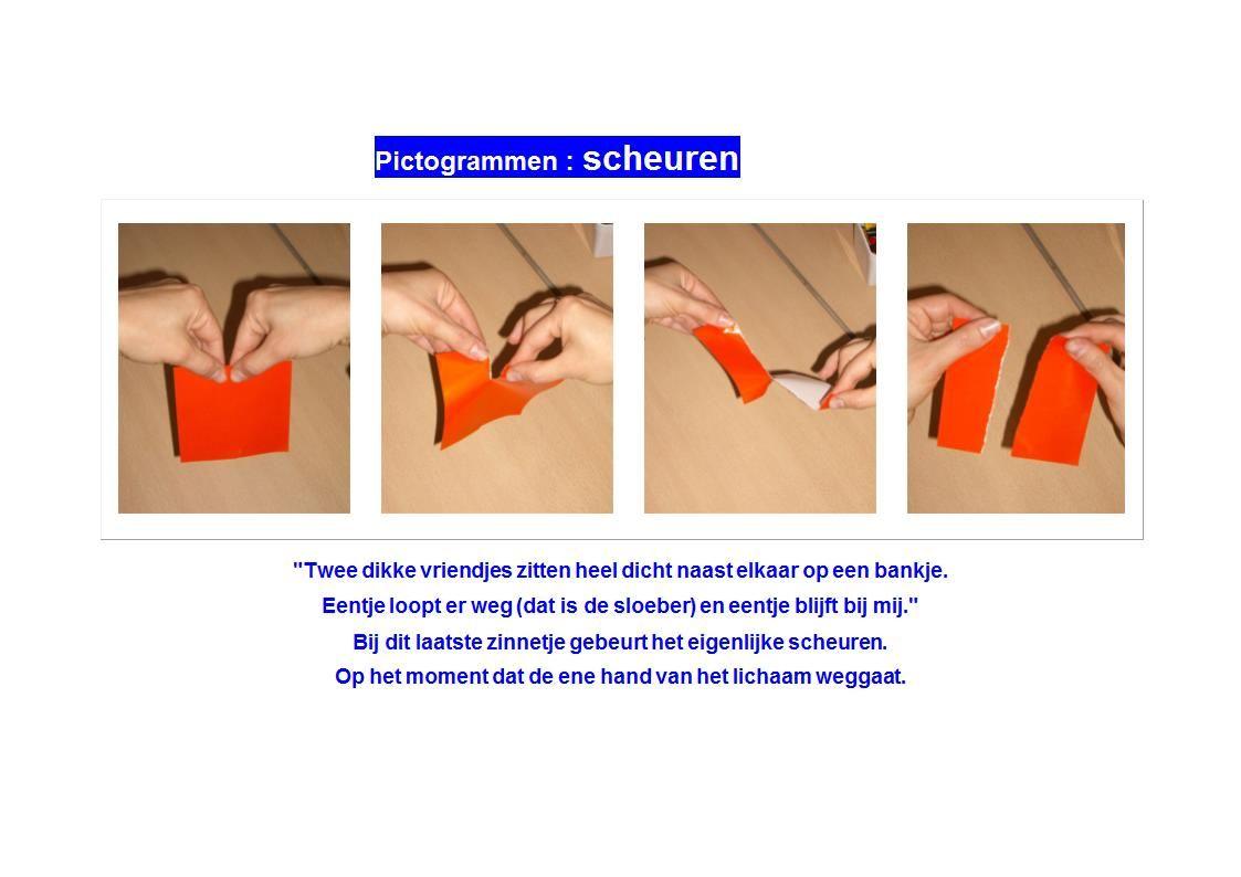 Picto Pictogrammen scheuren.doc | Opvoedtips, Pictogrammen, Peuters