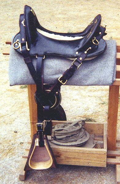 Mcclellan us army saddle the model for saddles
