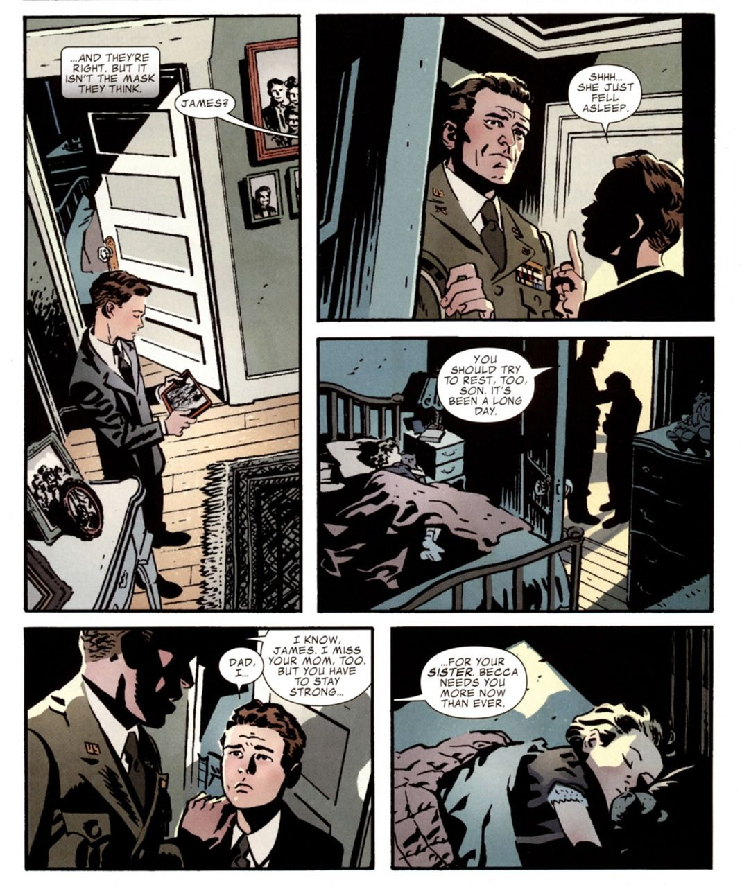 Chris Samnee  | Bucky Barnes, having to grow up for his