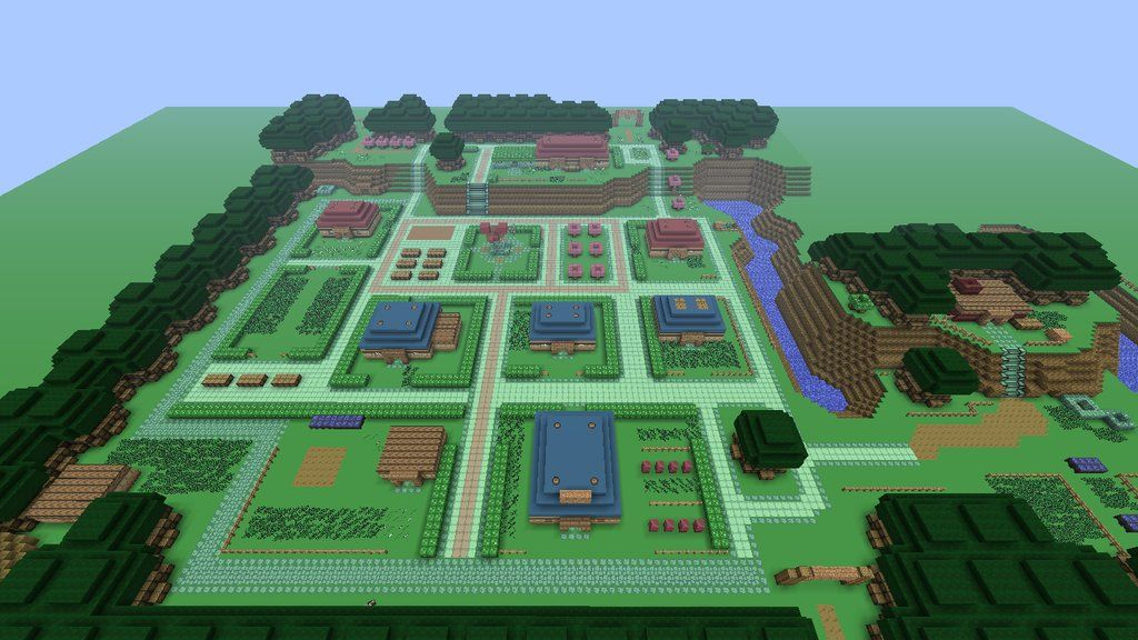 Minecraft Link to the Past Map Progress | Minecrafted | Pinterest ...