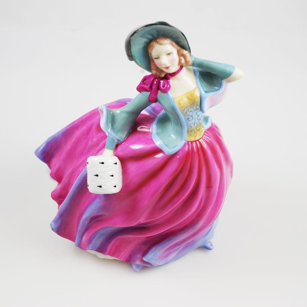 76993b144 Royal Doulton Pretty Ladies Figurine Autumn Breeze   Royal doulton ...