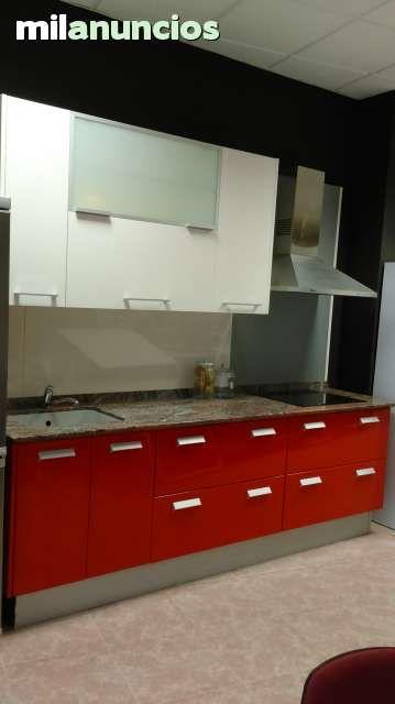 MIL ANUNCIOS.COM - Muebles cocina rojo. Casa y Jardín muebles cocina ...