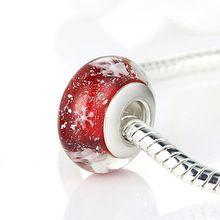 perle pandora rouge femme